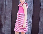TWEENS AND TEENS Pink Ruffle Sundress