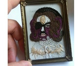 Hand Sewn Face by Stacey Page