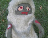 Zombie Yeti Plushie -- Made to Order