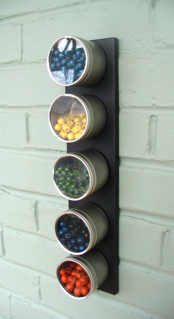 Magnetic storage for small spaces and craft areas wall - Craft area for small spaces property ...