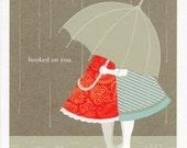 Custom Order for Love Card - Girl and Girl