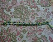 Handmade Swarovski Crystal Friendship Bracelet Earth Tones