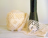 Ivory Cotton Lace Vintage Two Yards Wedding Supply DIY Wedding