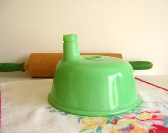 Vintage Jadeite Juice Adapter Hamilton Beach Mixer Attachment