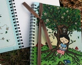 PICNIC SLUMBER NOTEBOOK, 50 pages, recycled paper, for sketch, journal