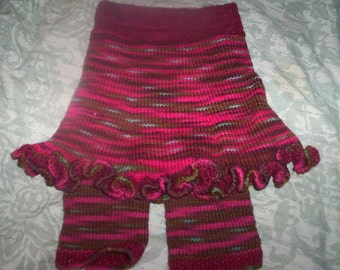 REDUCED Soft and Softer Skirty Longies  REDUCE PRICE