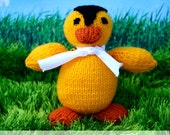 Cute Duck - knitting pattern PDF