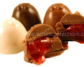 Chocolate Covered Cherries - Maraschino Cherry Cordials - Creme Centers