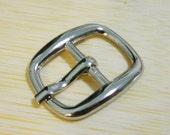 1/2 inch (12mm) nickel belt buckle 15pcs J55