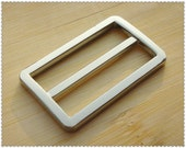 1.5 inch (inner size) Nickel alloying rectangle sliders strap adjuster  10pcs 3mm thickness U36