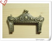 8cm anti bronze alloying  sewing purse frame purse making supplies Bag frame Handbag frame D14