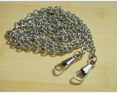 New style 120cm metal chains for attaching purse frame Nickle K77