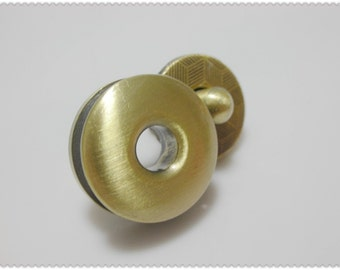 17mm Anti brass brusher Round external Magnetic Snaps F52