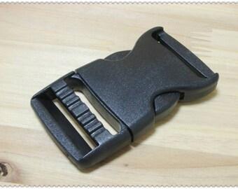 1 1/2 inch plasctc buckle  side release buckles for 1 1/2 inch webbing 10pcs E14