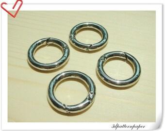 5/8 inch (inner diameter)  Nickel alloying gate rings 6pcs J39