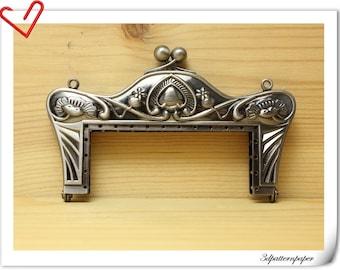 8cm Anti silver alloying  sewing purse frame purse making supplies Bag frame Handbag frame D83