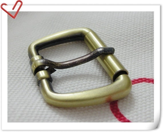 8 pcs Wire-Formed Roller Pin Buckles - 1 inch Extra thick wire high quality anti brass   E8