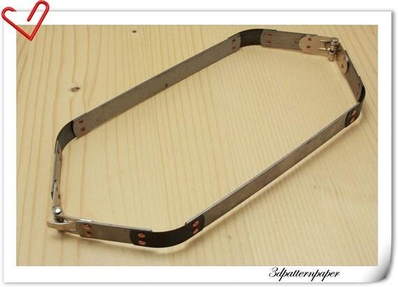 10 inch squeeze frame internal Flex frame  D74