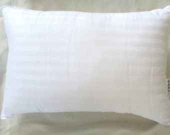 Pillow insert for 12X22   inch oblong lumbar pillow inserts  sold with comfyhevean cushion covers only