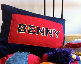 Personalized name monogrammed pillows -12X18 inches