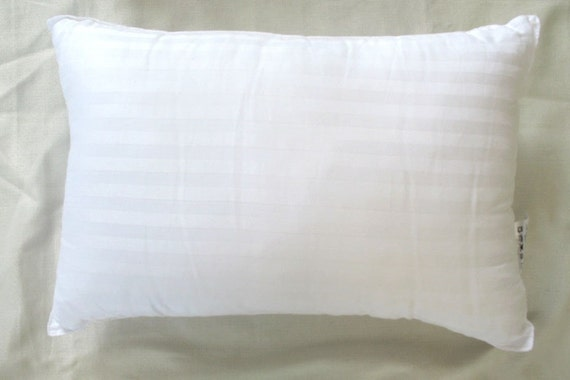 Pillow insert for 12X20 inch oblong lumbar pillow cover - to be brought with our cushion covers.