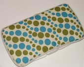 Green and Blue boy diaper Wipes Case