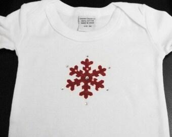 Snowflake Onesie