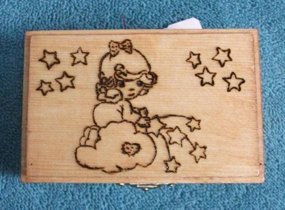 Angel Stars Box RESERVED for Sandra