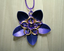 Chain Maille/Scale Maille Flower