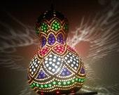 Charming Beauty-Gourd Art Hanging Lamp-Artist's Own Design