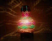 Amazing beauty Gourd Art Lamp ready to ship worldwide