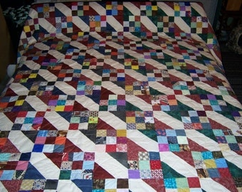 Alpine Nine Patch Quilt
