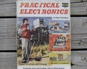 Practical Electronics Printed In 1958 Vintage Magazine