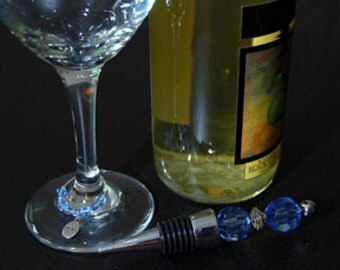 Blue Wine Stopper