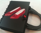 Wicked Witch Ruby Slippers Wizard of Oz Book Purse