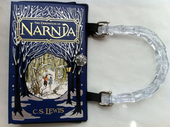The Chronicles Of Narnia Book Purse - Choose Your Handle