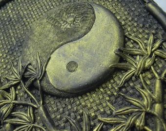 Gold Ying Yang   Art Journal