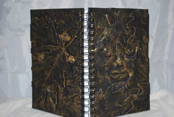 Gold Greenman  Journal, Sketchbook