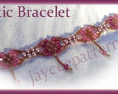 Beading Tutorial - Celtic Bracelet - Triangle weave