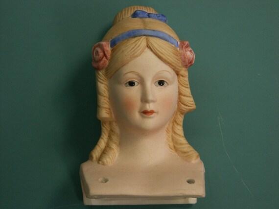 "Vintage 1970s lovely ceramic/porcelain doll parts/findings for making a 16""/inch long porcelaindoll"
