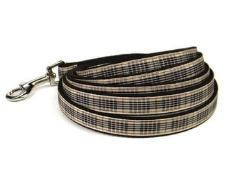 blackberry plaid leash (1/2 inch)