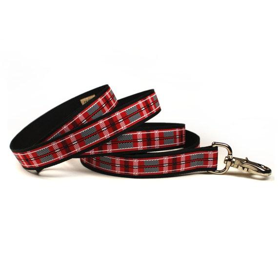 SALE - killarney plaid leash (1 inch)