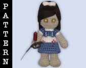 Crochet Pattern - Amigurumi Little Sister