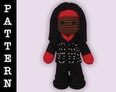 Crochet Pattern - Amigurumi Joanne Doll