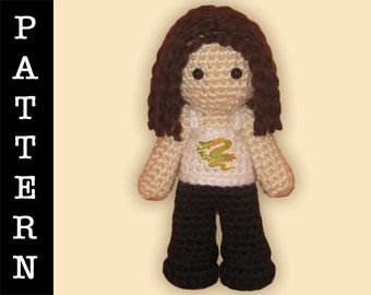 Crochet Pattern - Amigurumi Maureen Doll