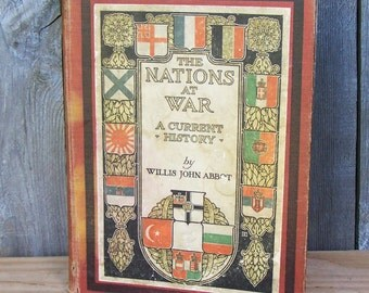 1917 The Nations At War Book