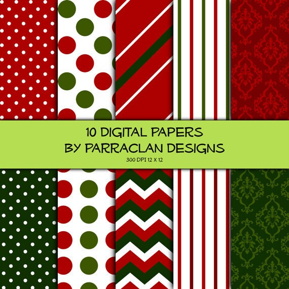 Christmas Digital Paper - SG2