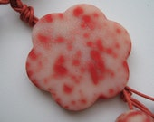 Red Dots Necklace FREE SHIPPING