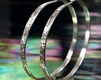 Hoop Earrings- Zen Web