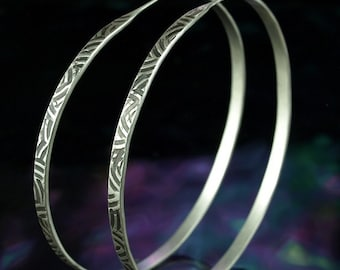 Hoop Earrings- Big Arcs